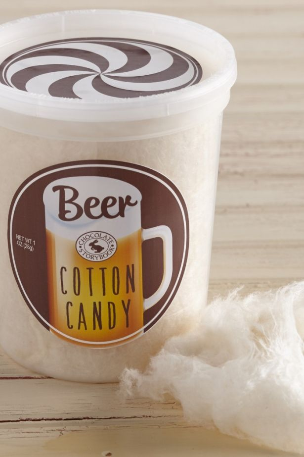 Beer Cotton Candy - 1oz (28g) by Chocolate Storybook on Gourmly
