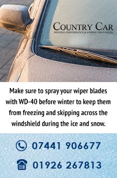 Make Sure To Spray Your Wiper Blades With Wd 40 Before Winter To Keep Them From Freezing And Skipping Across The Windshield Durin Wiper Blades Wd 40 Windshield