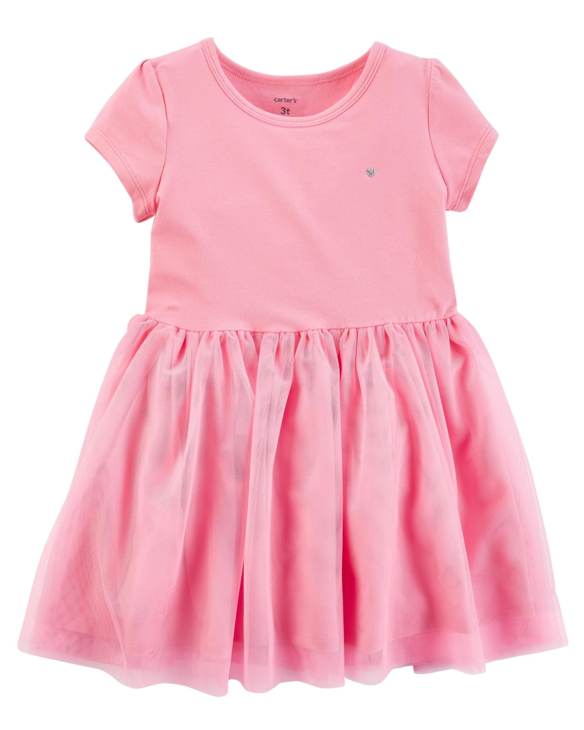 7538a08595d3 Tutu Jersey Dress | Toddler | Toddler dress clothes, Baby dress ...