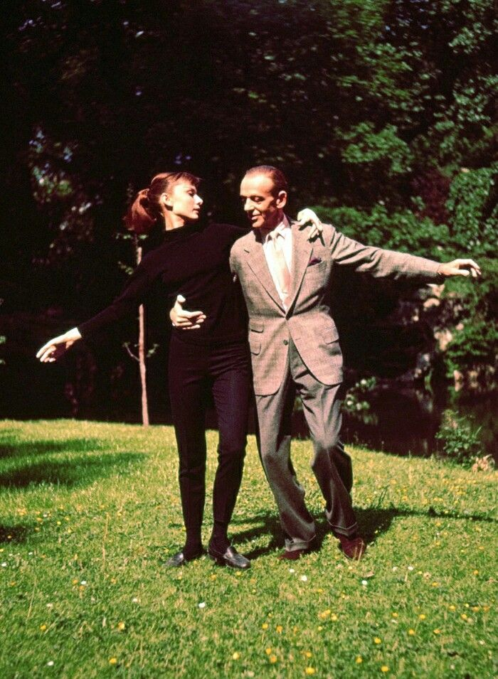Fred Astaire and Audrey Hepburn ❤❤❤❤❤