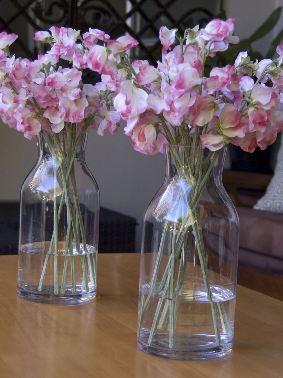 29 sweet pea pink small glass dome vase faux flowers flores 29 sweet pea pink small glass dome vase faux flowers mightylinksfo Gallery