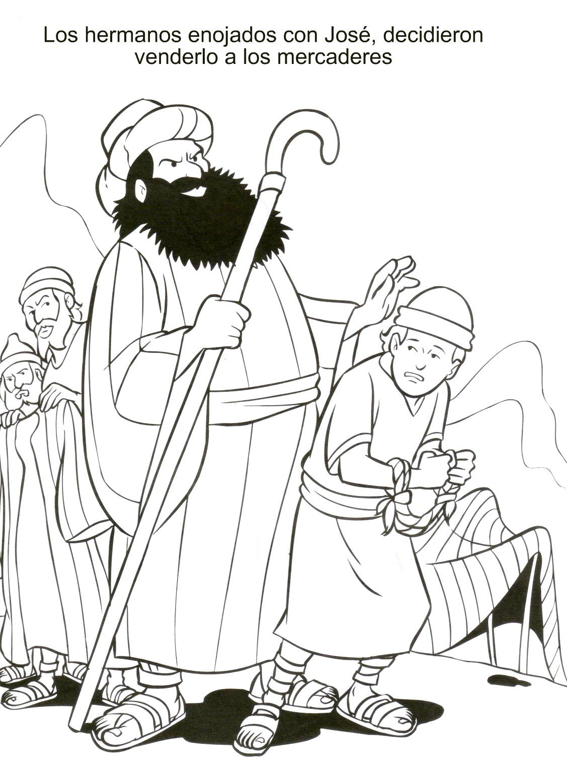 genesis 39 coloring pages - photo#20