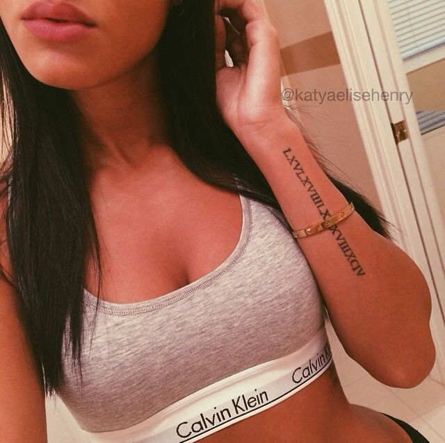 Image Result For Roman Numeral Tattoo Forearm Animal Tattoos