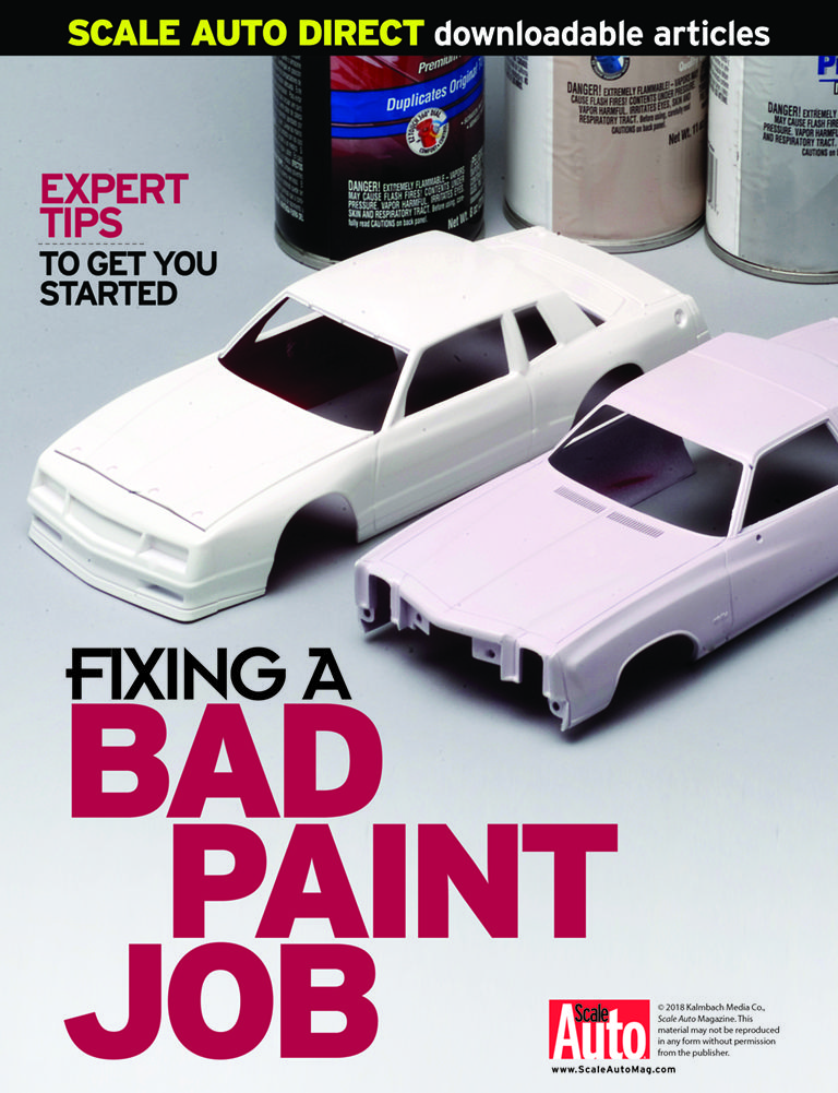 Free download. How to fix a bad paint job from the editors