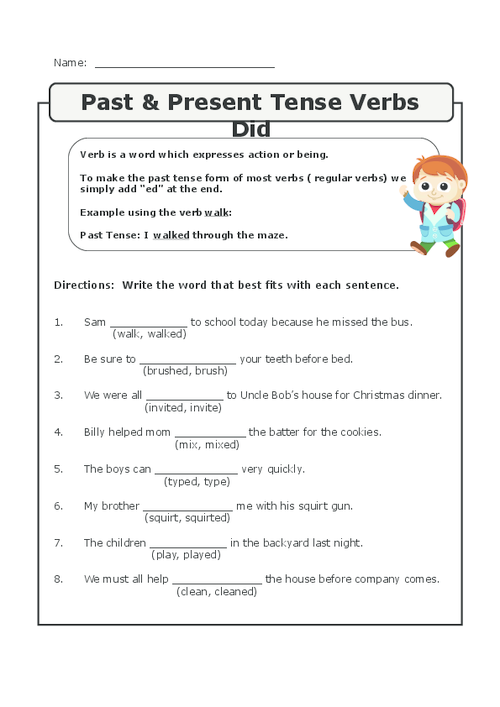 32++ Special verb worksheets 5th grade ideas