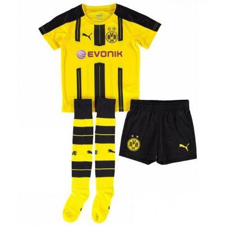 fd13885eed148 Camisetas del Borussia Dortmund para Niños Home 2016 2017