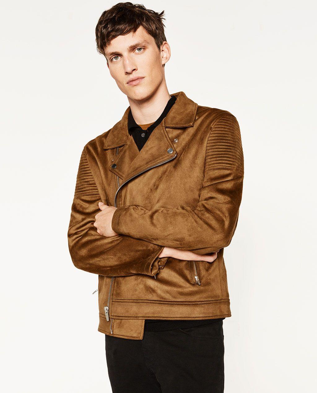 Zara Man Faux Suede Jacket Faux Suede Jacket Suede Jacket Zara Man