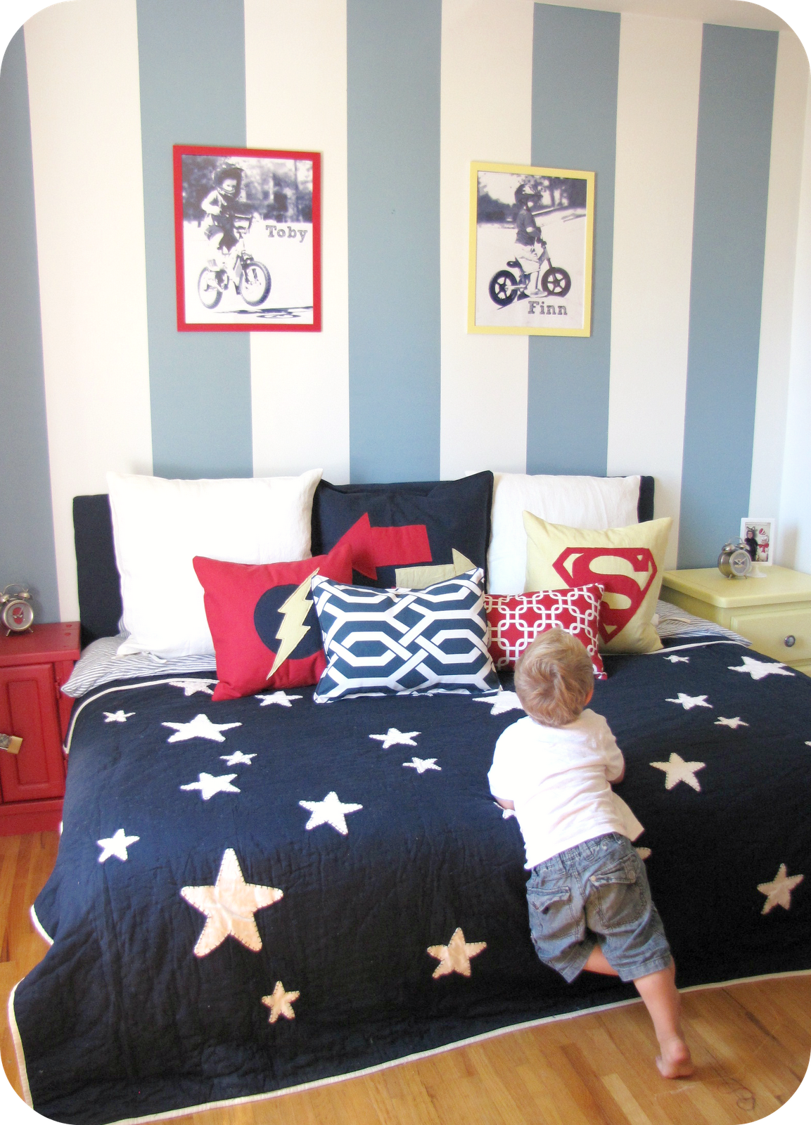 Designer Boys Red White And Blue Bedrooms Best Interior Furniture