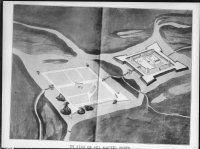 plan in vogelvlucht van stad en kasteel naar tekening van Dan. Specklin, 1930 Daniel Specklin (1536 – 18 October 1589) was an Alsatian fortress architect, engineer, and cartographer. He was born and died in Strasbourg. Objectnummer11.604