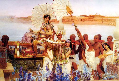 The Finding of Moses by Sir Alma Tadema