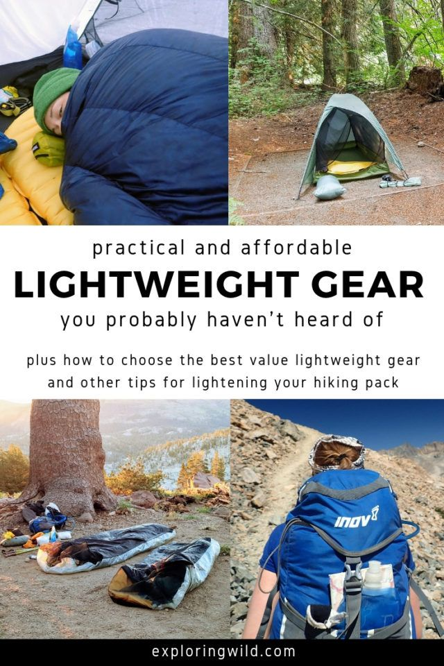 separation shoes 32dba de530 How to Lighten Your Pack For More Comfortable Backpacking ...