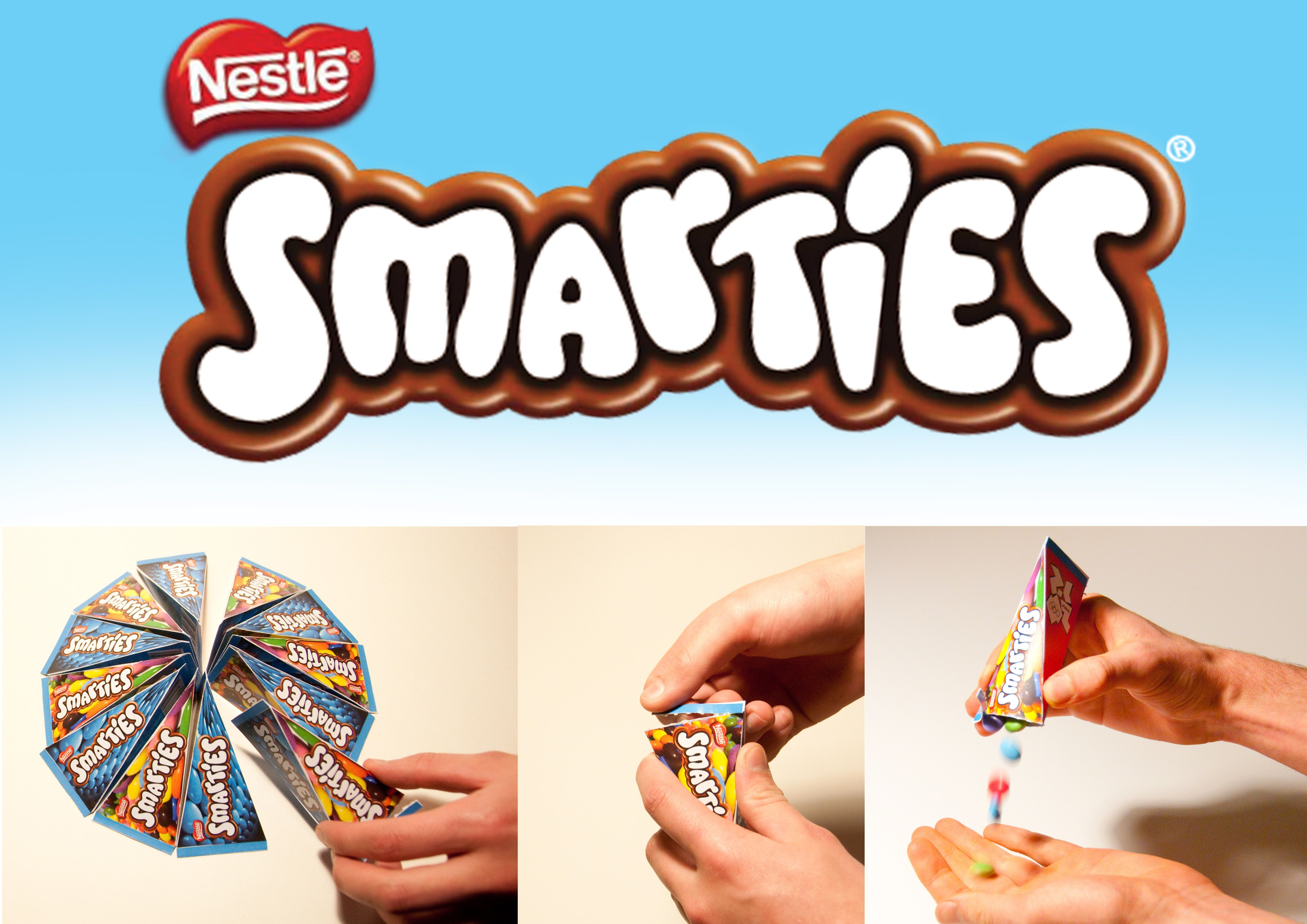 smarties 3d logo | PACKAGING - CPG Type Effects ...