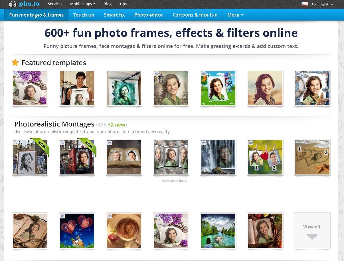 Fun Photo Effects | Photo Editing | Pinterest | Funny photo frames ...
