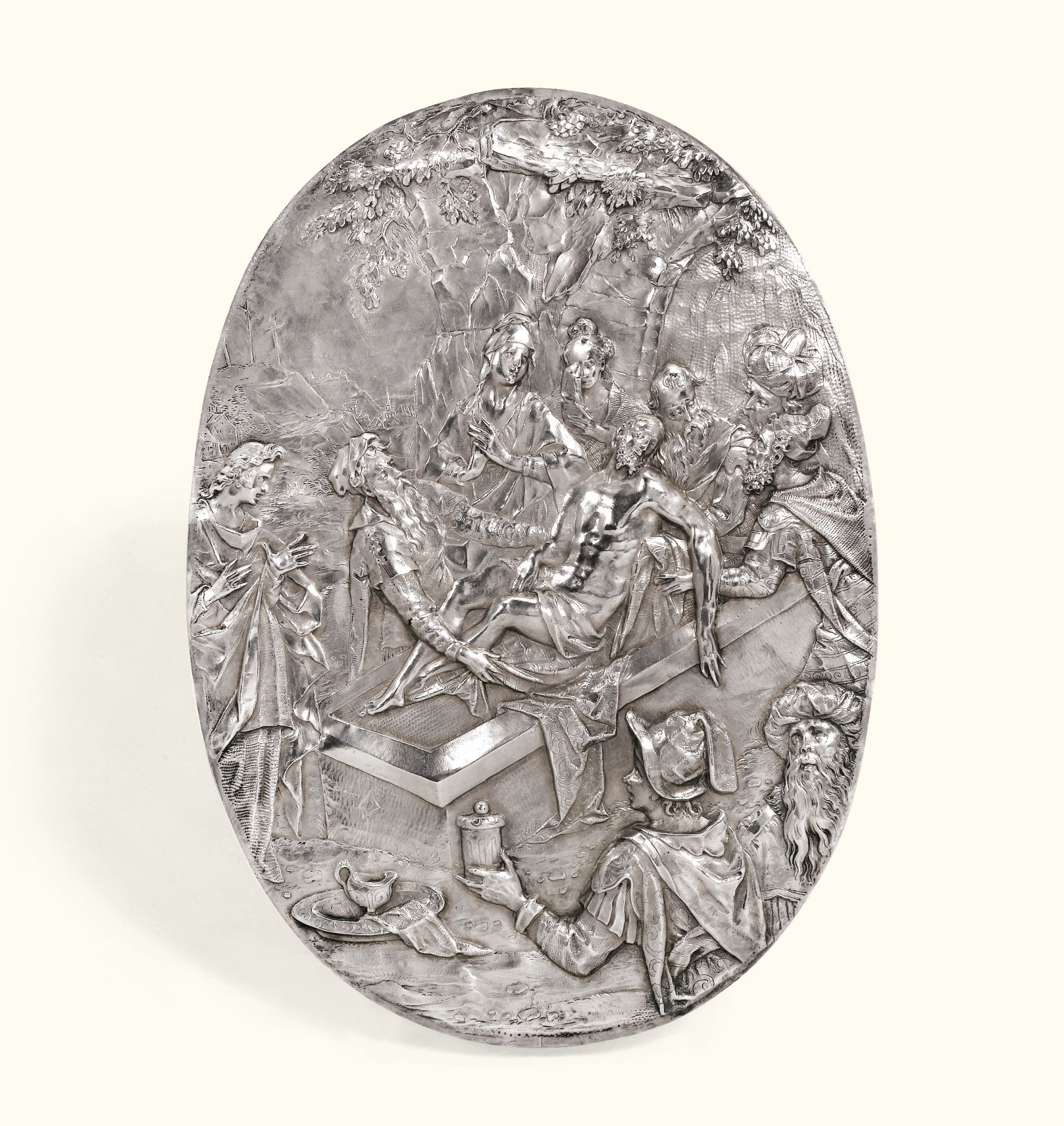 A Continental silver plaquette, probably German, Ist half of the 17th century | Lot | Sotheby's
