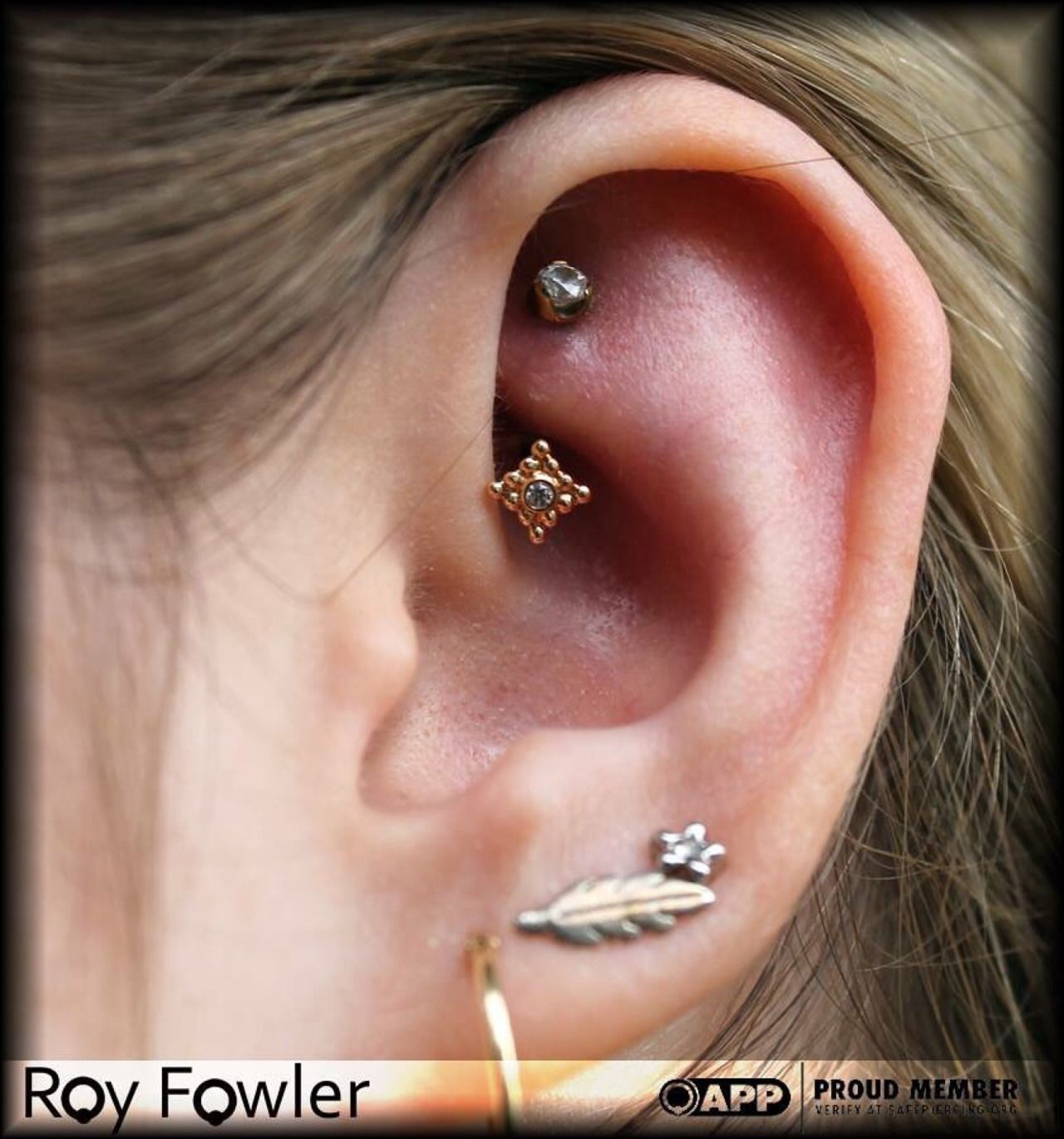 Upper nose piercing  Pin by Jess Mc on Ear Stabs u Adornments  Pinterest  Rook piercing
