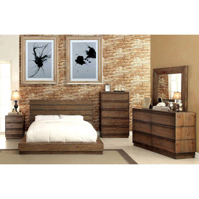 Loon Peak Elliston Platform Customizable Bedroom Set & Reviews