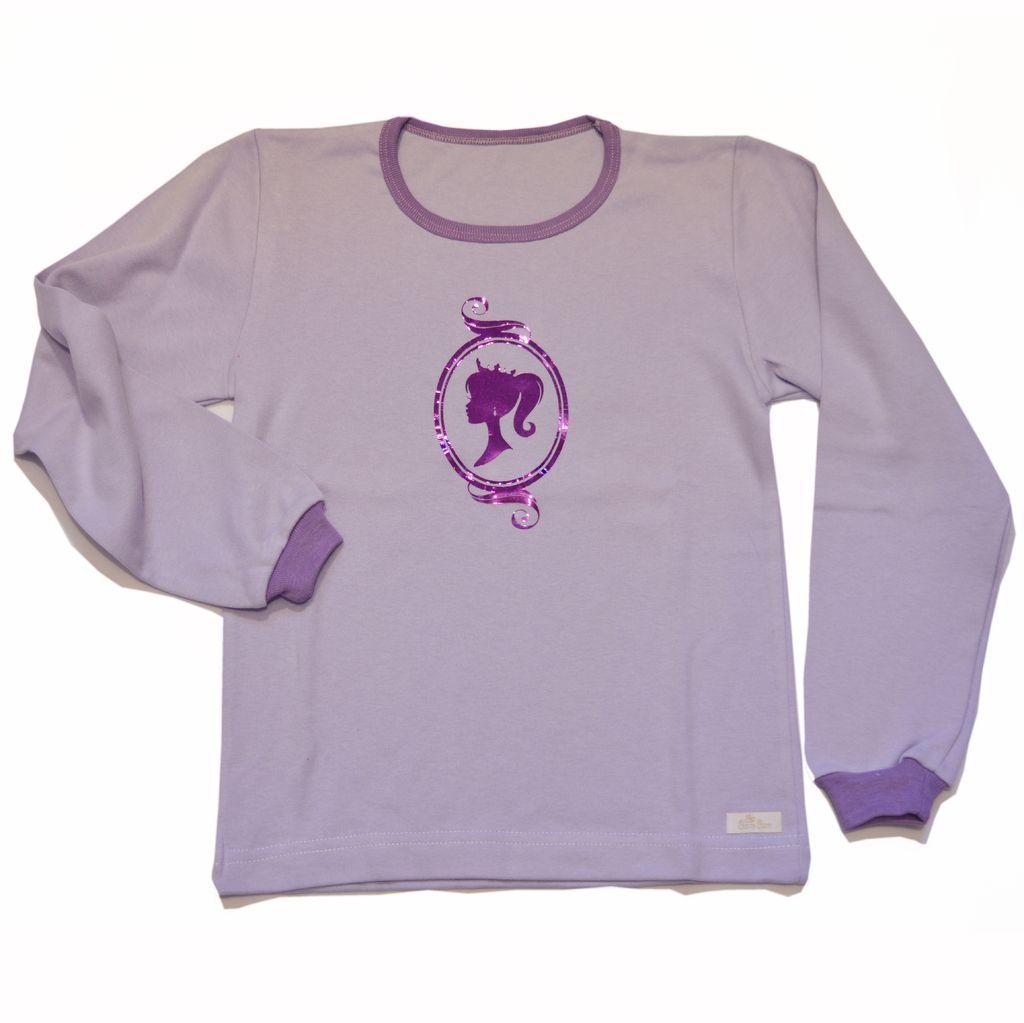 Remera Girl interlock de algodón niña-ropa para chicos y bebes
