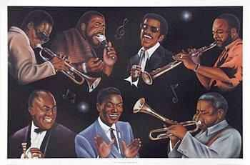 Old School Music and Artist | People that Smile | Black women art