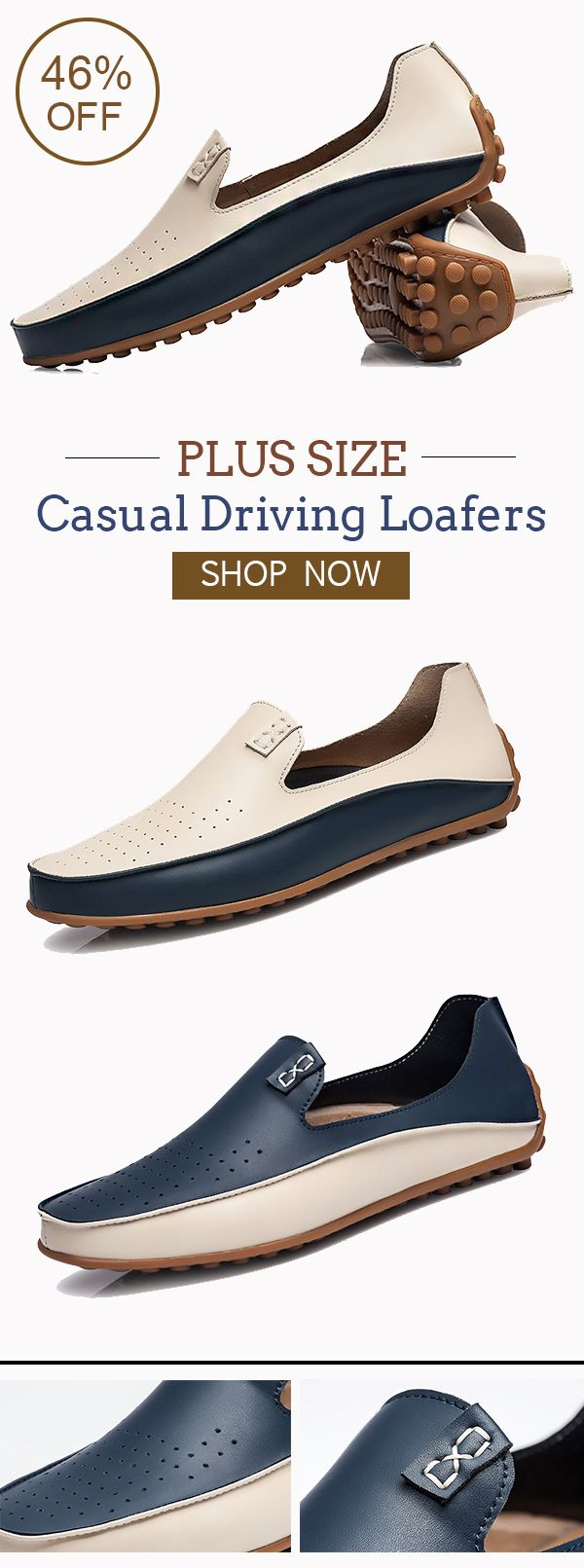Mens Smart Casual Loafers Driving Work Summer Flat Espadrilles Penny Shoes Size