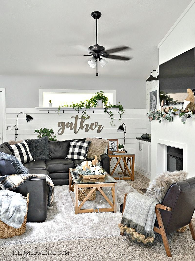 Living Room Farmhouse Decor Ideas | Pinterest | Modern farmhouse ...