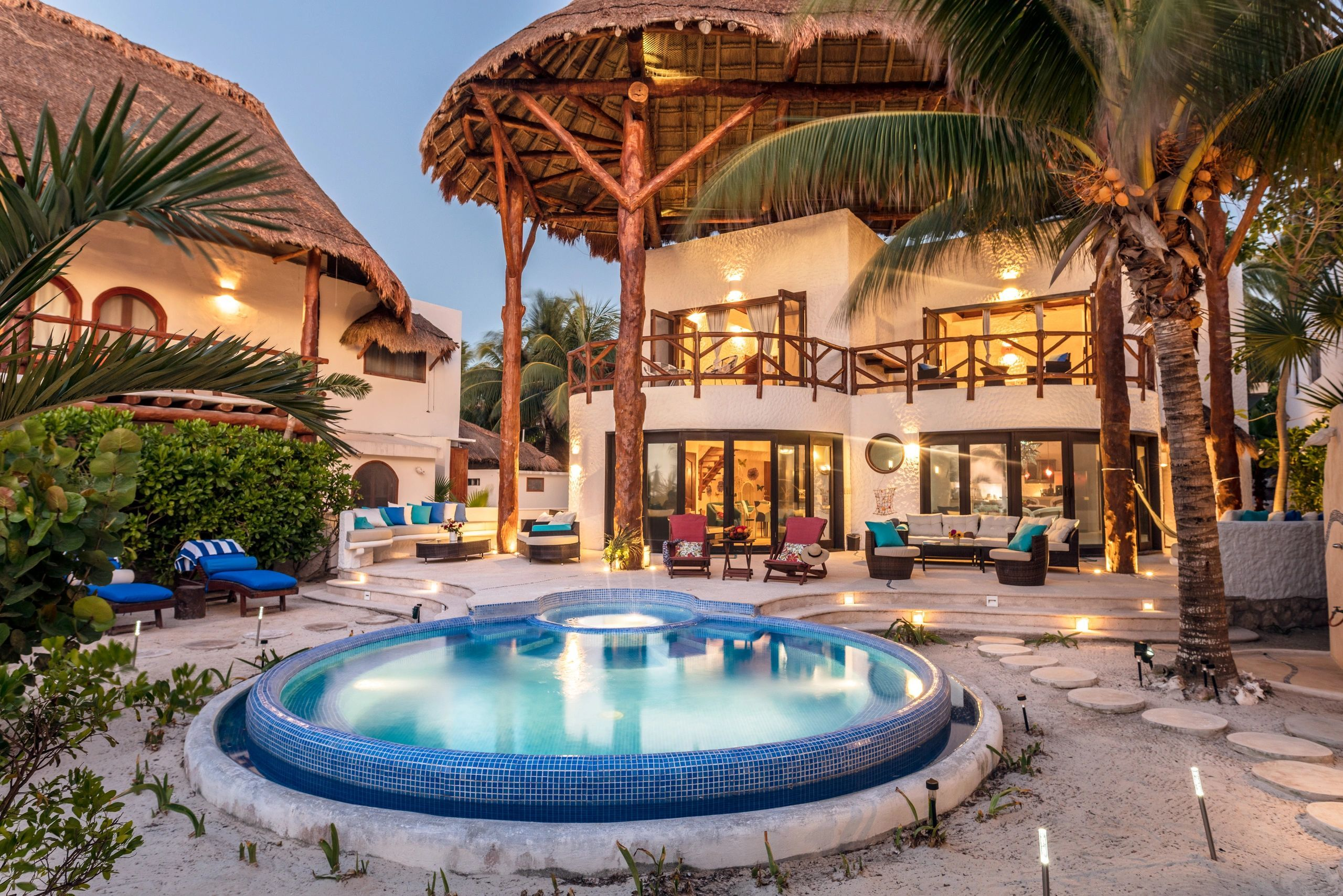 Beach House For Rent In Holbox Mexico Vacation Home Rentals