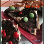 Christmas Crack with M & Ms - A Day In Candiland