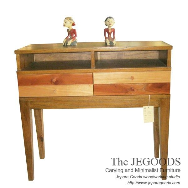 Beautiful Rusitc Chest of Drawers - Rustic Furniture in Pop Art Style.  We produce & supply #rusticfurniture style made of teak & mindi wood. Best traditional handmade construction with high quality artisan made at affordable price. http://jeparagoods.com