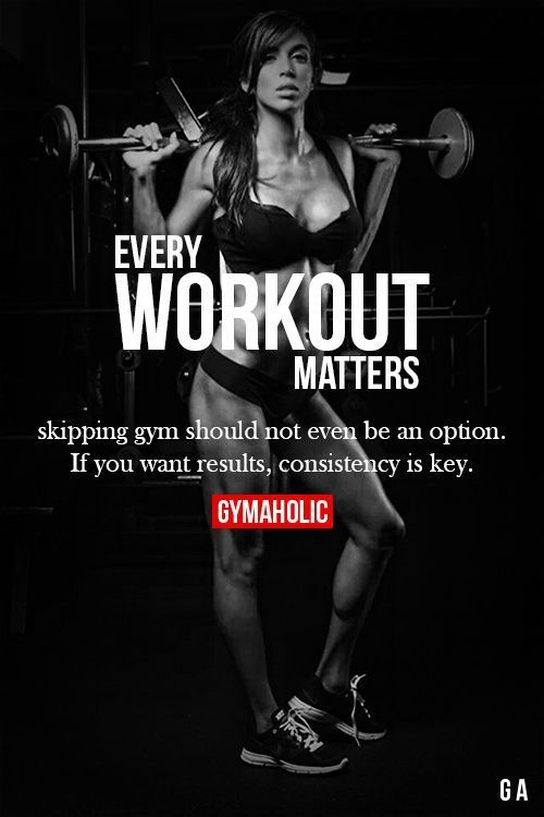 Jedes Training ist von Bedeutung Fitness Revolution -> www.gymaholic.co / ... #fit #fitness # ... -...