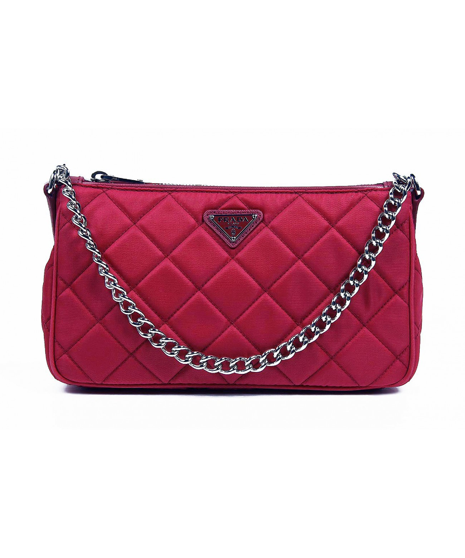 9efc60cc064b60 PRADA Clutch Handbag Impuntu Tessuto'. #prada #bags #shoulder bags #clutch # nylon #leather #hand bags #