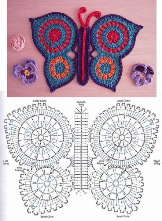 Con diagrama. | muñecos en crochet | Pinterest | Ganchillo ...