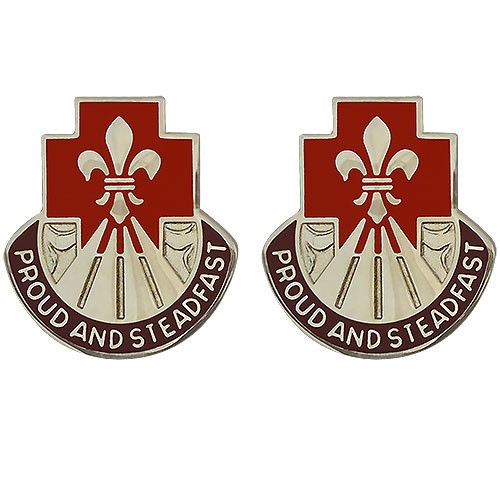 United States Army 62nd Medical Brigade Unit Crest (Proud and Steadfast) Criteria:Unit Crests are unique to each unit in the U.S. Army and are officially kn...