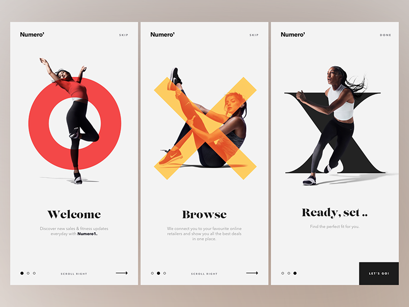 Onboarding Design Inspiration — June 2017 | Design inspiration ...