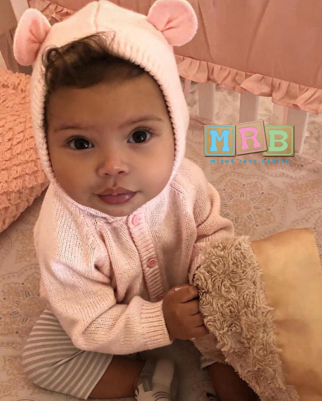 """dda68ab42 Mixed Race Babies on Instagram: """"Dad: African American Mother: Caucasian •  Jovi Londyn • Submission By: Dad IG: @mrfortefied Mom IG: @swaggb305 #MRB  ..."""