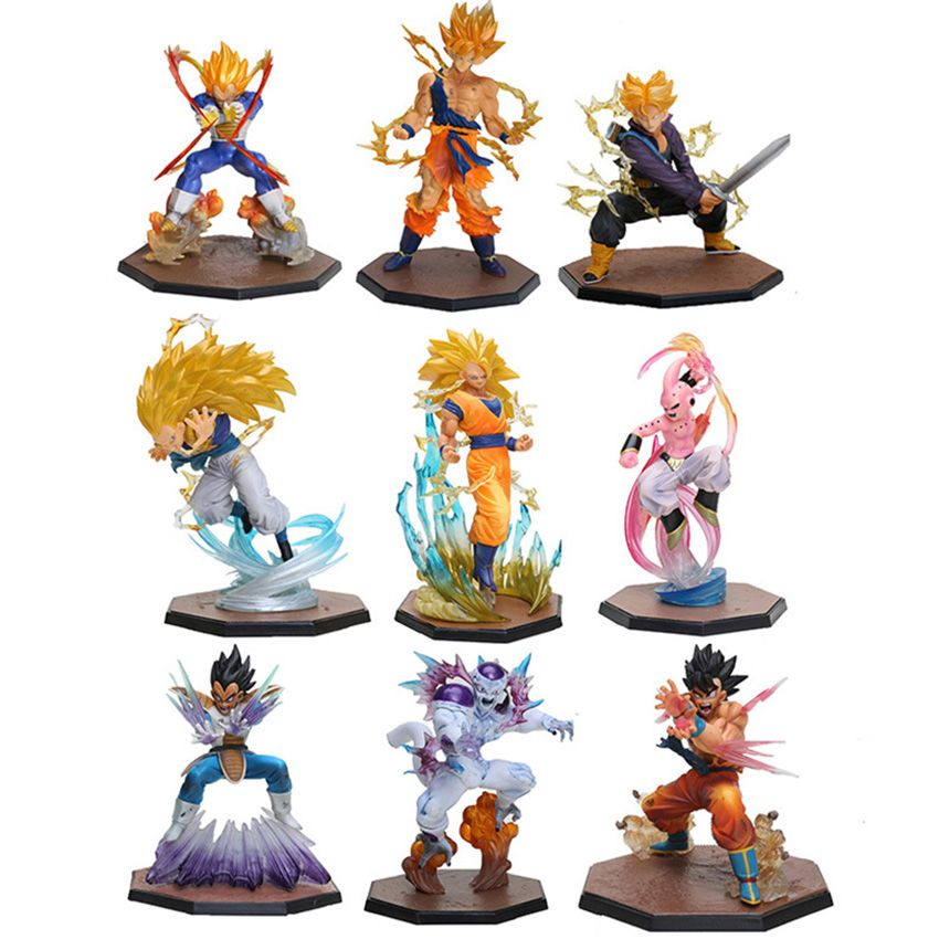 Dragon Ball Z Collectible Model 11 Characters Dragon Ball Z Dragon Ball Action Figures