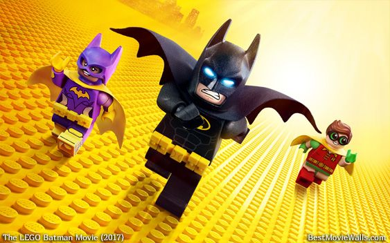 Batman Robin And Batgirl Running To Save Gotham Legobatmanmovie Wallpaper Lego Batman Wallpaper Lego Batman Lego Batman Movie Batman movie joker wallpaper lego