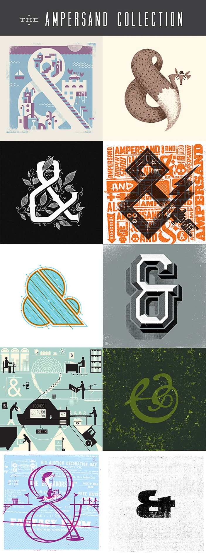 The #Ampersand #Collection |Fifty Five Hi's