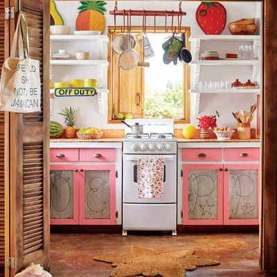 Our Most Colorful Kitchens Ever Decorating With Pink