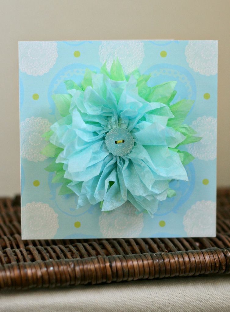 Tissue Flowers Tutorial No 2 With Images Tissue Paper Flowers