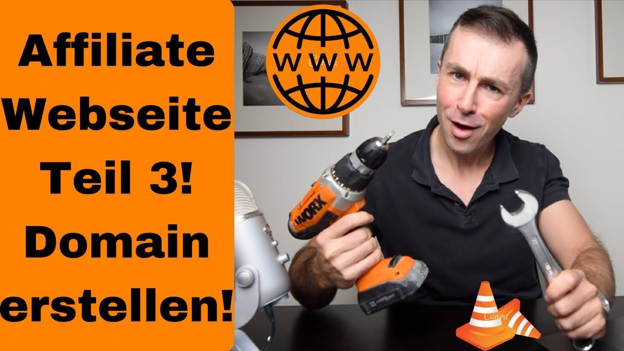 Nachdem du die richtige Idee für deinen Domainnamen hattest willst du die Domain erstellen. Hier zeige ich wie du eine Domain anlegst für deine Affiliate Homepage, oder um dein Amazon FBA Business für Kunden zu präsentieren.   https://www.youtube.com/watch?v=4mRszrSYlT4   #affiliatehomepage #affiliatehomepageerstellen #affiliatemarketing #affiliatemarketingdeutsch #affiliatewebsite #affiliatewebsite2018 #affiliatewebsitebeispiel #affiliatewebsiteerstellen #affiliatew