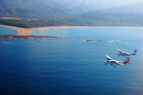 Flying In Costa Rica Gives You Gorgeous Aerial Views Traveling - Costa rica vacation packages with airfare