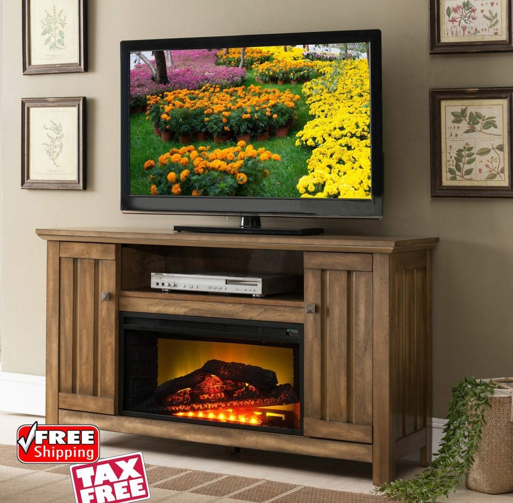 Rustic Media Console Fireplace Tv Stand Adjustable Insert Heater Storage Cabinet Rusticmediaconso With Images Rustic Media Console Media Fireplace Fireplace Media Console
