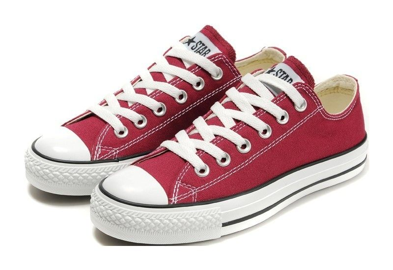 Converse All Chaussures Sneakers Boeuf Star Lo Rouge CwNgwpYWW