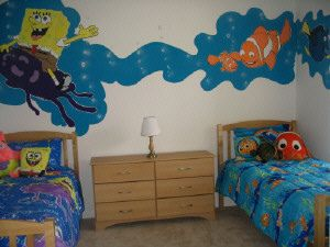 Spongebob And Nemo Bedroom Design A Fun Diy Home Decor Project Kid Room Decor Diy Projects For Bedroom Cool Diy Projects