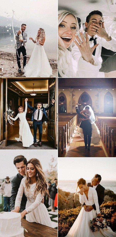 20 Ideen für Hochzeitsfotos mit Ihrem Bräutigam – Hochzeitskleid Empfehlunge…