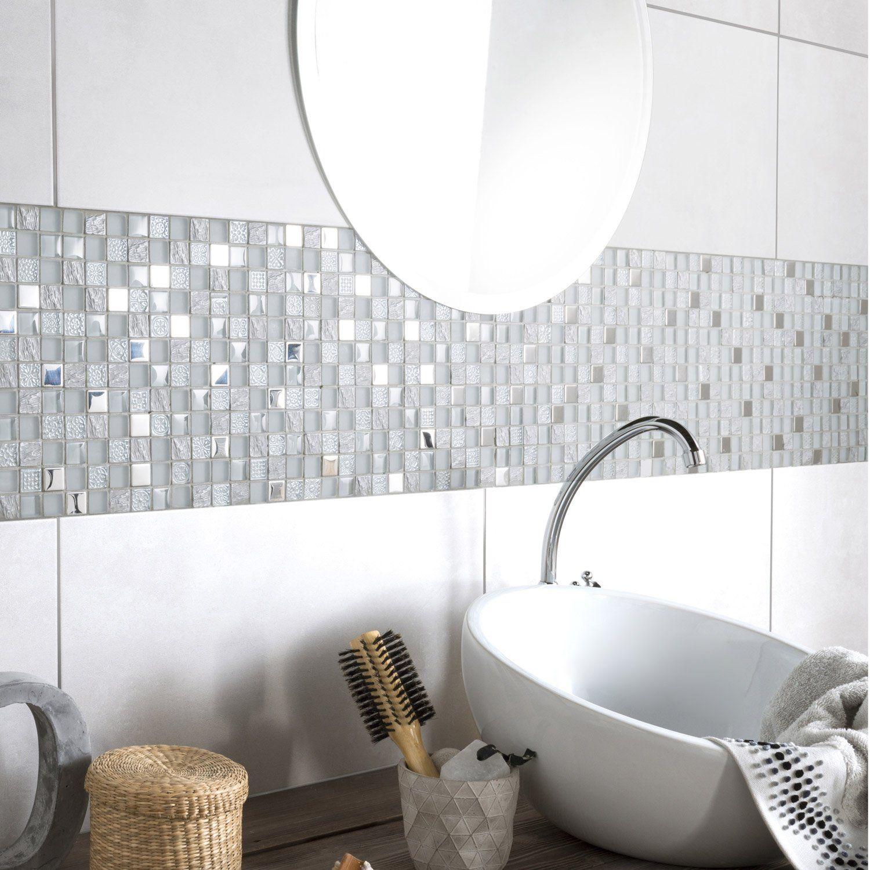 Adapté à la douche:Oui, mur uniquement   Salle de bains gris