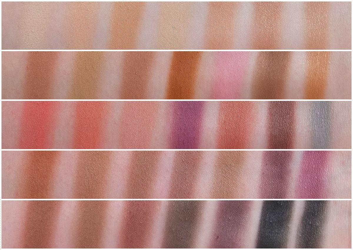 Quick Swatch Morphe 35f 35n 35w 35b Eyeshadow Palettes Tendencies Belt Colorstich Brown Cokelat Tua Review