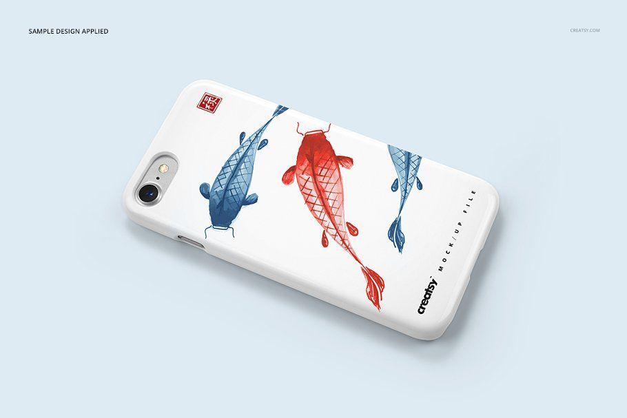 Download Iphone 7 Plastic Case Mockup Set Iphone Case Design Iphone Mockup Iphone Psd