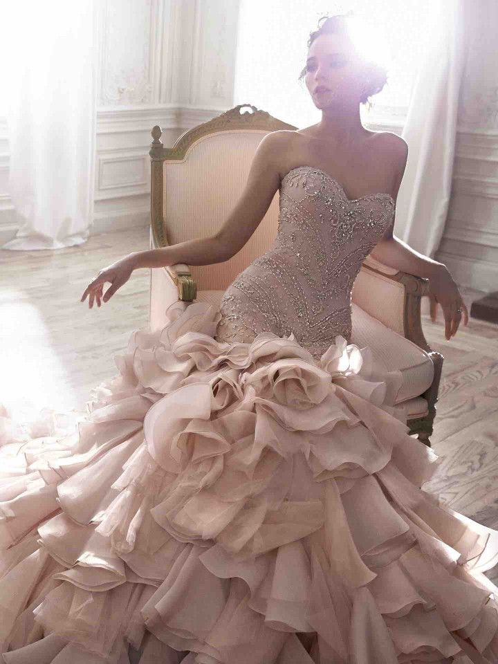 Wedding Dresses with Modernly Chic Glamour | Wedding Dresses ...