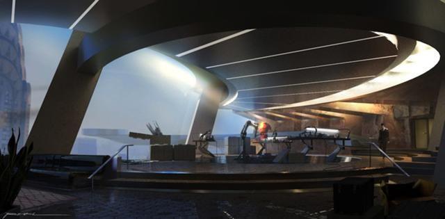 Stark Tower Interior Concept Art World Concept Art Tony Stark House
