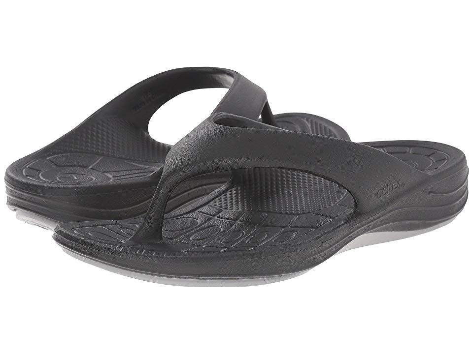 61a25414dd42 Aetrex Lynco Flip (Black) Women s Sandals. With a flip of a switch ...